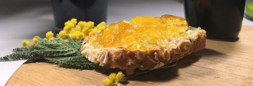 Gelée de mimosa A Corsic'ana Mimusà Flowers Jewelly!